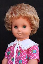 Винтажная кукла- лялька-куколка - Гдр- 36 см.