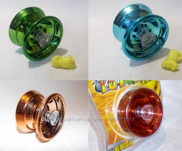 Йо-йо металлическое, с подшипником , ёё , yo-yo, jo-jo