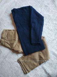 100 шерсть свитер джемпер мужской luciano размер l