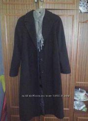 Длинное Итальянское лаконичное прямое пальто