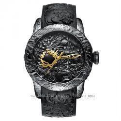 Мужские дизайнерские часы Megalith Black Adition