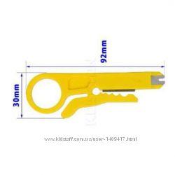 Нож для снятия изоляции и зачистки проводов