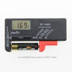 Электронный тестер для батареек