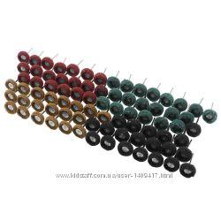 Абразивные шлифовальные насадки 25х12мм из синтетического материала на дрем