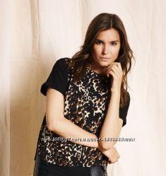 Шифоновая блуза-футболка XS esmara скидка