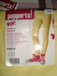 Яркие джеггинсы pepperts 122  164 уценка