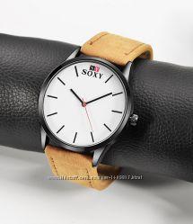 Часы мужские кварцевые SOXY nubuck
