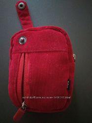Продам красный велюровый чехол для фотоаппарата