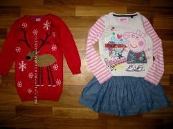 платья, туники и сарафаны на 3-6 лет