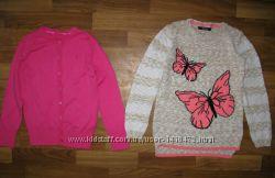 джинсовый пиджак, регланы, свитшоты, кофты, рубашка девочке на 6-9 лет