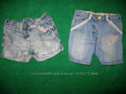 шорты и ромпер девочке на 1-3 года