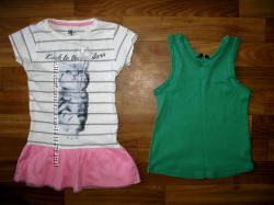 футболки, блуза и майки девочке на 3-6 лет ч 2