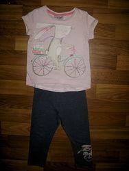 футболки и майки девочке на 1-3 года