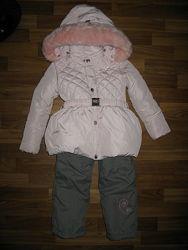 зимний комбинезон на 4-6 лет