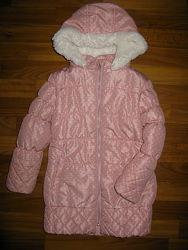пальто, парка, ветровка девочке на 4-8 лет