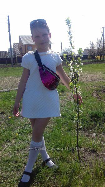 стеганое платье-туника