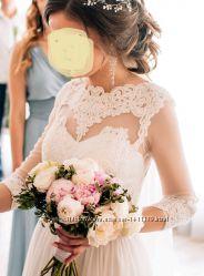 свадебное платье плаття сукня весльна хс-с 8-10 р