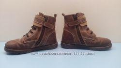 Кожаные ботинки Petitis Petons 26 р. 16, 5 см очень прочные