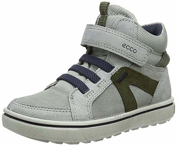 Демисезонные кожаные ботинки Ecco Glyder