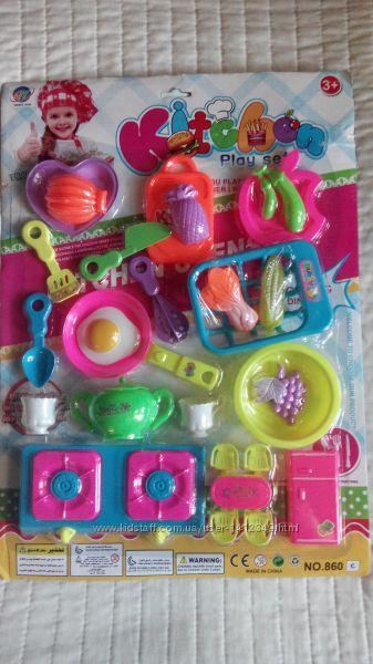 Детский набор игрушек кухня