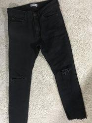Джинсы мужские черные 38 размер pull&bear