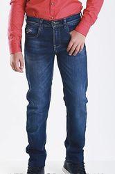 Джинсы а- yugi jeans для плотного мальчика 128-134р