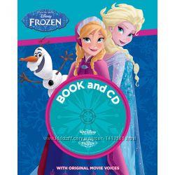 Книги на английском для детей - книги Дисней  с CD