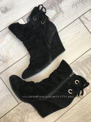 Ботинки 38р текстиль