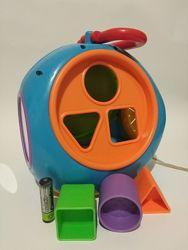 Большой Сортер часы fun time развивающая игрушка