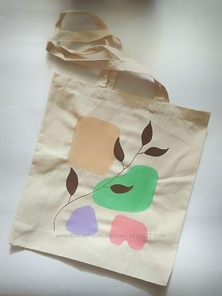 Экосумка экоторба торба сумка шопер пляжная екосумка екоторба абстракция