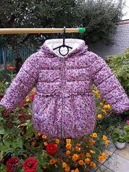 Демисезонная куртка mayoral 98р, двухсторонняя