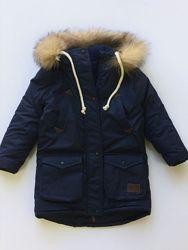 Очень теплая зимняя парка куртка фемилилук Familylook курточка