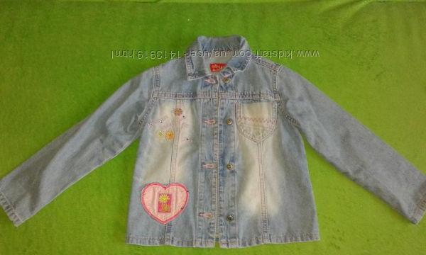 Пиджак девочке 5-6л