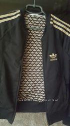 Спортивный бомбер, кофта, куртка, оригинал Адидас, 34 рзмер