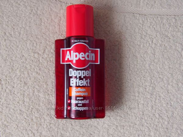 Alpecin  Шампунь двойного действия против перхоти и выпадения волос