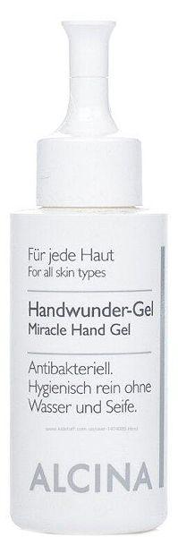 Гель для рук дезинфицирующий Alcina B Hand Wunder Gel