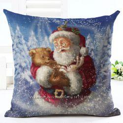 Чехол для декоративной подушки к Новому Году и Рождеству