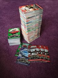 Карточки Супергонки 1 коллекция супер гонки
