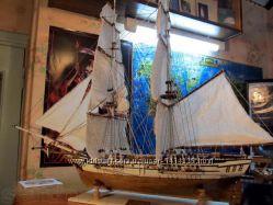 Продам модель яхты