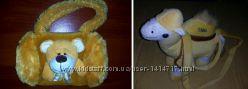 Детская сумочка для девочки ввиде мягкой игрушки Верблюжонок Мишка