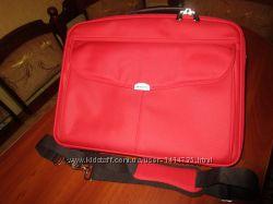 Dicota. Брендова червона сумка для ноута 1526см. х36 см