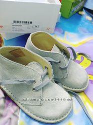 Кожаные ботиночки 21 р