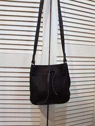 Кожаная сумка Massimo Dutti