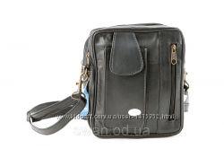 Повседневная удобная сумка из натуральной кожи