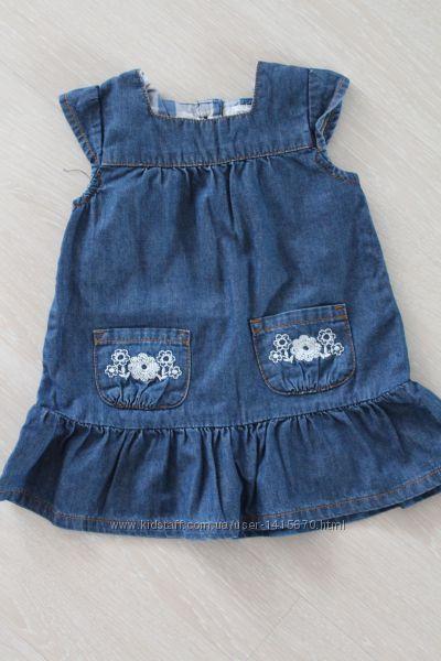 Джинсовое платье Carters
