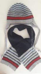 Демисезонный комплект шапка и шарф Chicco