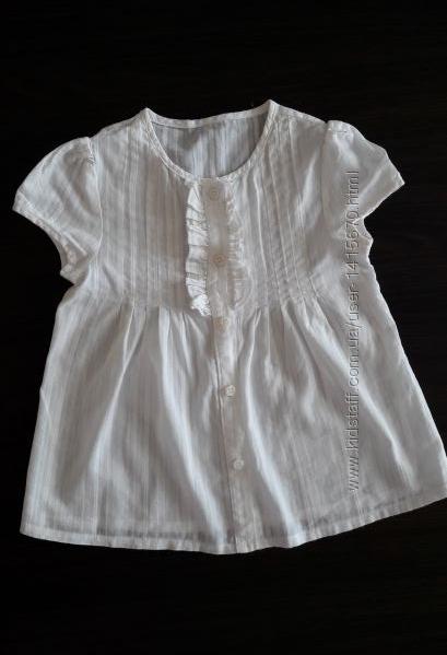 Блузка, рубашка с коротким рукавом