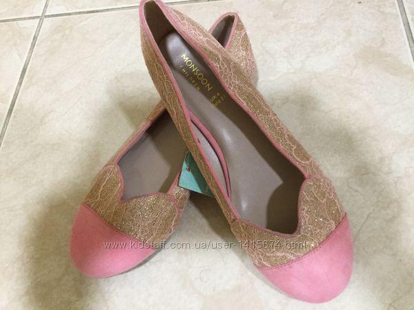 Новые нарядные туфли Monsoon 25 и 37 р-ра