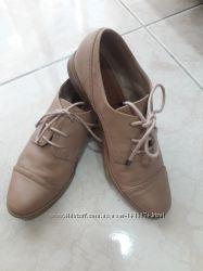 Бежевые туфли 36-37 размера Promod
