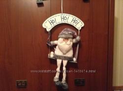 Новый подвесной Дед Мороз Carefour Франция